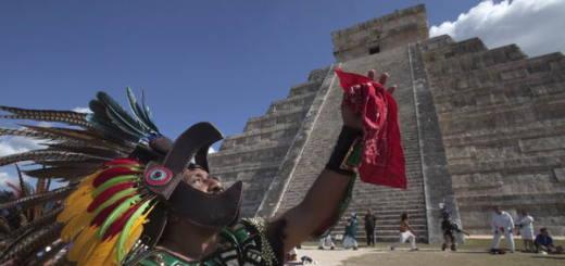 В гостях у потомков Майя