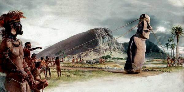 статуи острова пасхи