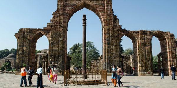 Загадочная железная колонна в Индии