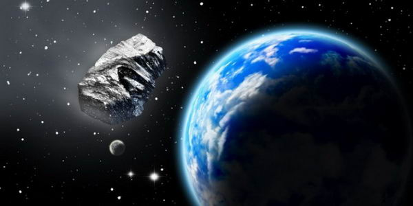 Металлическое ядро погибшей планеты рядом с Солнцем