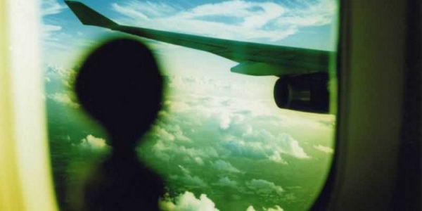 НЛО над лондонским аэропортом Хитроу